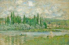Vue de Vétheuil (C Monet - W 609),1880.