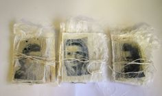 Artist books handmade on silk paper by Marilyn Stephens blog at http://marilyn-interlaced.blogspot.co.uk/