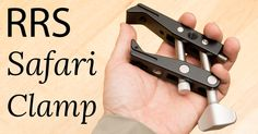 Every now and again you stumble upon an accessory that you know right away is destined to be with you for your whole career. The Really Right Stuff Safari Clamp is just such an accessory. Photography Reviews, Photo Accessories, Camera Lens, Clamp, Safari, Lenses, Career, Carrera