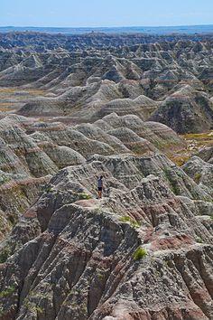 Badlands National Park., South Dakota (by porto62)