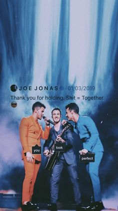 Jonas Brothers Personalized Birthday Name Poster with Custom Name On it Border Mat and Frame Options