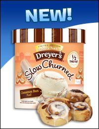 Dreyer's/Edy's Slow Churned Limited Edition Bakery Treats Light Ice Cream