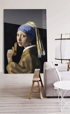Girl with the gun by Arty-Shock VERMEER | GIRL WITH A PEARL EARRING #Vermeer #GirlwithAPearlEarring #Arty-Shock #StudioPietjePrecies