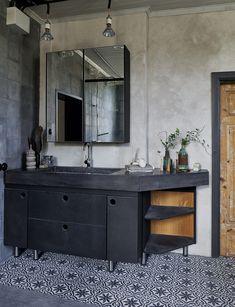 badeværelse indretning spa spejl vask