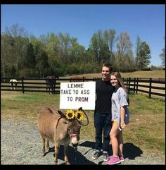 Promposal | I'd die & go to heaven if somebody did this for me
