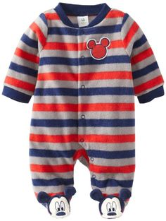 Amazon.com: Disney Baby Baby-Boys Newborn Sleep and Play, Multi, 3-6 Months: Clothing
