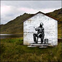 #dolk & #pøbel | Street art in no-mans-land, Lofoten