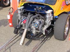 VW dragster ready for shoot