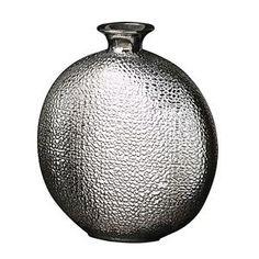 Howard Elliott Medium Metallic Crocodile Vase