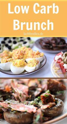 Low Carb Brunch Rezept für ein super leckeres, gesundes, kohlenhydratarmes Frühstück, Mittagessen oder Abendessen.