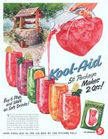Kool-Aid 6 Flavors 1953 Ad Picture