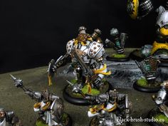 Black Brush Studio - Miniature painting services: Warmachine & Hordes - Cygnar