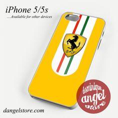 Yellow Ferrari Phone case for iPhone 4/4s/5/5c/5s/6/6 plus