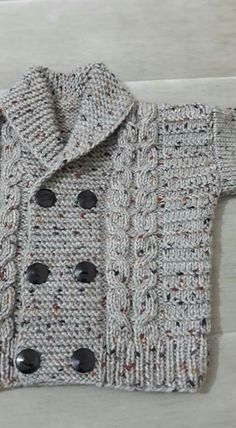 Diy Crafts - -Knit Baby Sweater, Hand Knitted Grey Baby Cardigan, Gray Baby boy Clothes, New Born Baby Gift for Baby Showers, Cable Knit coat Baby Knitting Patterns, Crochet Baby Sweater Pattern, Crochet Baby Sweaters, Baby Boy Knitting, Knitted Baby Cardigan, Knitted Baby Clothes, Knitting Designs, Baby Patterns, Free Knitting