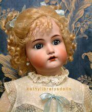 "The Sweetest Little 27"" Angelic All Original Kammer & Reinhardt Antique German Child Doll"