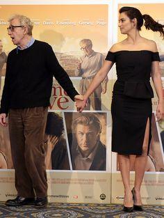 Woody Allen et Penélope Cruz