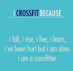 #dedication #alive #crossfit