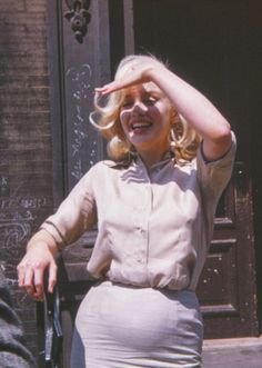 Unseen pictures of Marilyn taken in 1960 by Frieda Hull