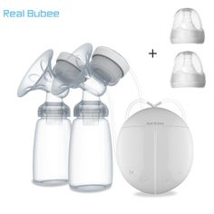 Electric Double Breast Pump Kit with 2 Baby Milk Bottles Nipple Suction Breastfe. - Electric Double Breast Pump Kit with 2 Baby Milk Bottles Nipple Suction Breastfeeding Assistant Bre - Baby Feeding Pillow, Baby Feeding Chart, Baby Feeding Schedule, Mom Milk, 2 Baby, Baby Bottles, Milk Bottles, Pumps, Bottle Feeding