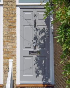 Extra wide Victorian front entrance door and frame - Cotswood Doors