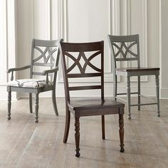 Our Custom Dining furniture is made for you and ready for delivery in 30 days. Customize this chair with a choice of body styles and finishes for the bo. Dining Room Chairs, Dining Furniture, Custom Furniture, Side Chairs, Home Furniture, Home Furnishings, Interior Design, Interior Decorating, Wood Wood