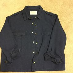 Zara Premium Denim Wear Collection Zara denim jacket. Never been worn.  This jacket is a rare find.  what you see today, could be gone tomorrow  Zara Jackets & Coats Jean Jackets