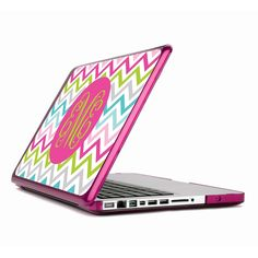 Create your own custom Macbook Air or Pro Retina case. Start designing your unique, personalized Macbook case. Best Laptop Cases, Laptop Case Macbook, Macbook Pro Cover, New Macbook, Apple Macbook Pro, Macbook Pro Retina, Laptop Bags, Chevron Monogram, Monogram Decal