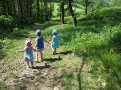 Wandelen met kids - (c) Barbara Dessein