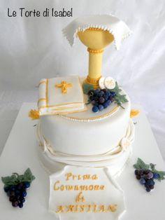 First Communion cake - Torta per la Prima Comunione