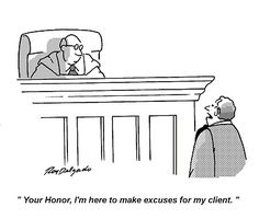 haha - every attorney has done that!