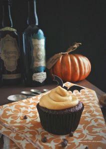 Paleo Chocolate Cupcakes With Pumpkin Spice Frosting Hit The PaleOMG Blog Waves! - Clean eating with a dirty mind