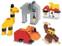 Let's Build It Again site :) LEGO® Instructions 4408 Animals