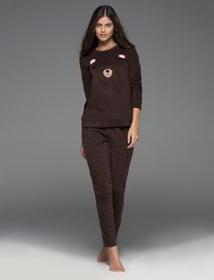 women'secret | Products | Long bear polar pyjama