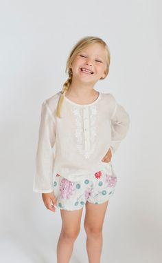 EMBROIDERY BLOOMERS