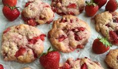 Recette : Biscuits aux fraises.
