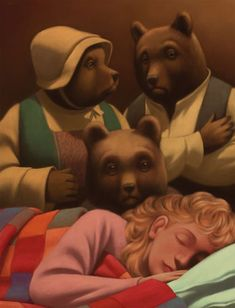 GOLDILOCKS AND THE THREE BEARS BY GIANNI DE CONNO