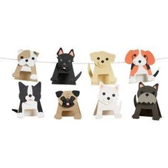 Craft playful puppies as fun party invitations, place cards or string together for a great garland! Kit makes 12 dogs in assorted breeds (approximately x each). Kit contents may vary. Beach Party Games, Tween Party Games, Bridal Party Games, Princess Party Games, Backyard Party Games, Engagement Party Games, Halloween Party Games, Disney Party Games, Dog Themed Parties