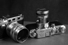 Leica IIIC and Nicca Type 5L by Paola Marinangeli