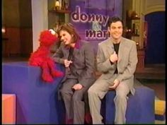 Elmo Out Takes With Donny & Marie Osmond