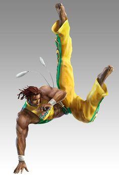 Eddy Gordo from Tekken - Game Art and Cosplay Gallery Best Games, Fun Games, Tekken 1, Arcade, Kung Lao, Ninja Gaiden, King Of Fighters, Fantasy Warrior, Fighting Games