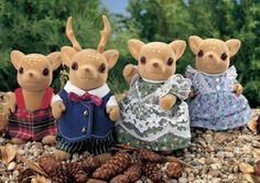 sylvanian families - Moss Reindeer Family