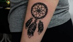 A dreamcatcher tattoo represents a powerful symbol of protection by acting as an amulet or a talisman against evil and misfortune. - Part 3 Dreamcatcher Tattoo Thigh, Watercolor Dreamcatcher Tattoo, Dreamcatcher Tattoo Meaning, Tattoo Designs And Meanings, Tattoo Designs For Women, Body Art Tattoos, Sleeve Tattoos, Narwhal Tattoo, Tattoos For Guys