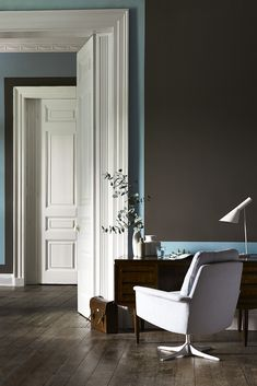 New Colour Combinations from little greene paint company grey and blue #abcDreamSpace