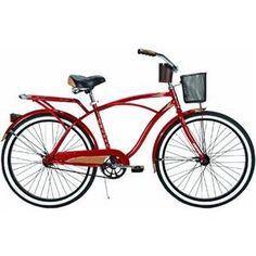 Special Offers - Huffy Mens Cardinal Deluxe Bike (Red Metallic Large/26-Inch) - In stock & Free Shipping. You can save more money! Check It (April 17 2016 at 04:43PM) >> http://cruiserbikeusa.net/huffy-mens-cardinal-deluxe-bike-red-metallic-large26-inch/