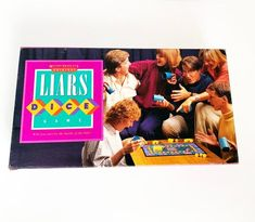 Vtg 1987 Original Liars Dice Board Game No 4802 by Milton Bradley for sale online Best Family Board Games, Family Games, Sec Games, 6 Sided Dice, Liar Game, Weird But True, Milton Bradley, Shadow Hunters, Are You The One