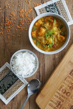 Dhal de lentilles corail carottes fenouil.  #dhal #daal #dahl #indien #inde #indianfood #lentilles #vegetarien #vegetarian #veggie #legumes #vegetables #fenouil #riz #healthy