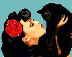 Retro + kitty!