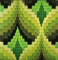 Cathy of California: Bargello