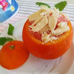 Edels Mat & Vin: Sorbet av sitron og blodappelsin fra 1970'erne ♫♥♫... Sorbet, Stuffed Peppers, Vegetables, Food, Stuffed Pepper, Essen, Vegetable Recipes, Meals, Yemek