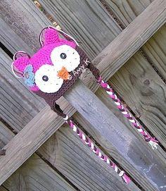 Baby Girl Owl Hat Newborn Baby Hats Crochet Baby Hats by azek2000